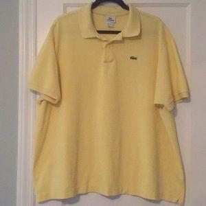 Lacoste pique classic polo shirt size 9/4XL